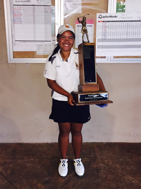 Ali Morallos - 2015 Moore League Individual Champion