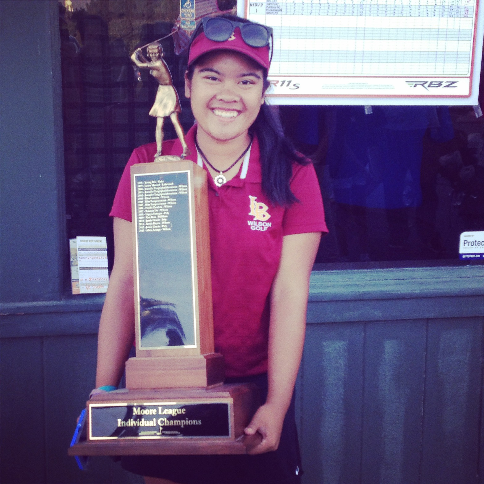 Ali Morallos - 2014 Moore League Individual Champion