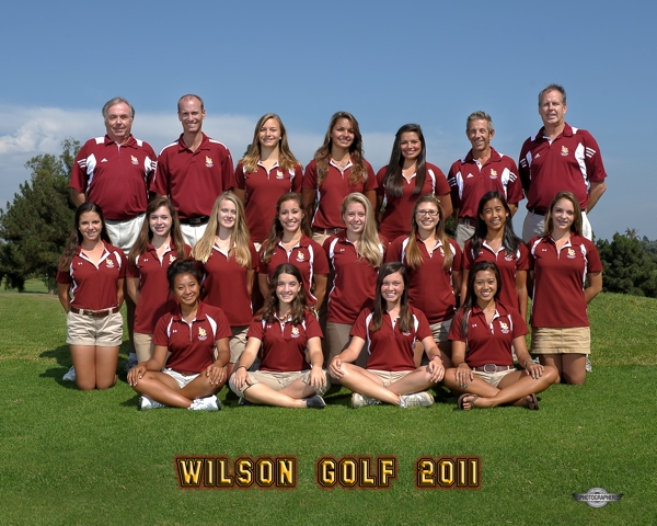 2011 Wilson Girls Golf Team