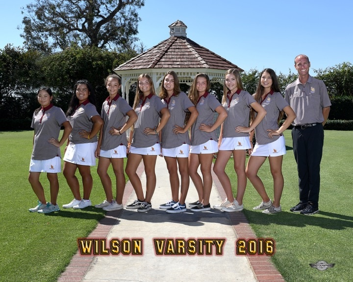2016 Varsity Girls Golf Team