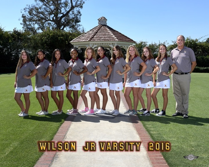2016 JV Girls Golf Team