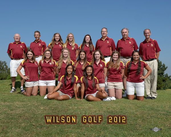 2012 Wilson Girls Golf Team