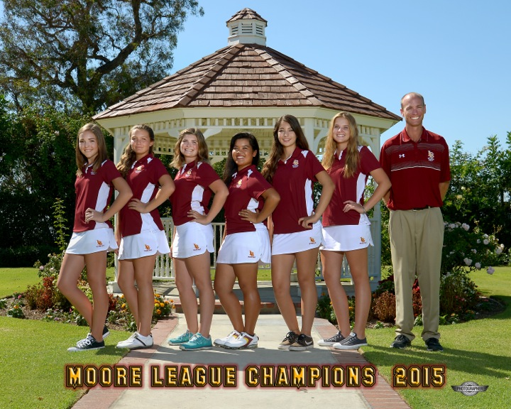 2015 Varsity Girls Golf Team