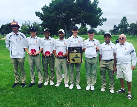 Boys Golf Wins CIF Championship!