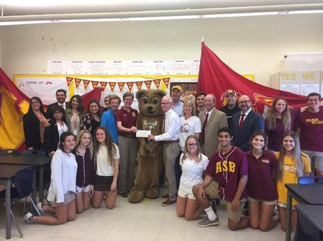 Wilson Alumni Golf Tournament - Donates $12,500 to Wilson Athletic Teams