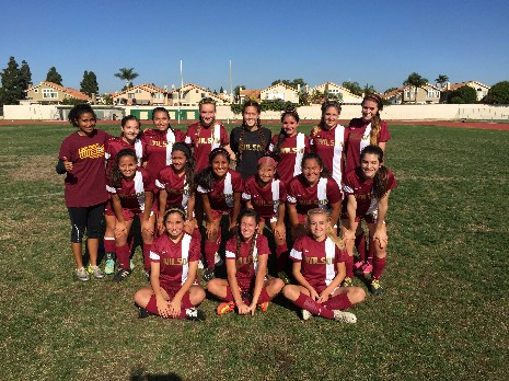 2014-15 Frosh/Soph Girls Soccer