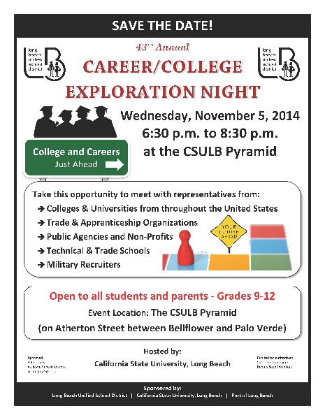 College and Career Night at the Pyramid