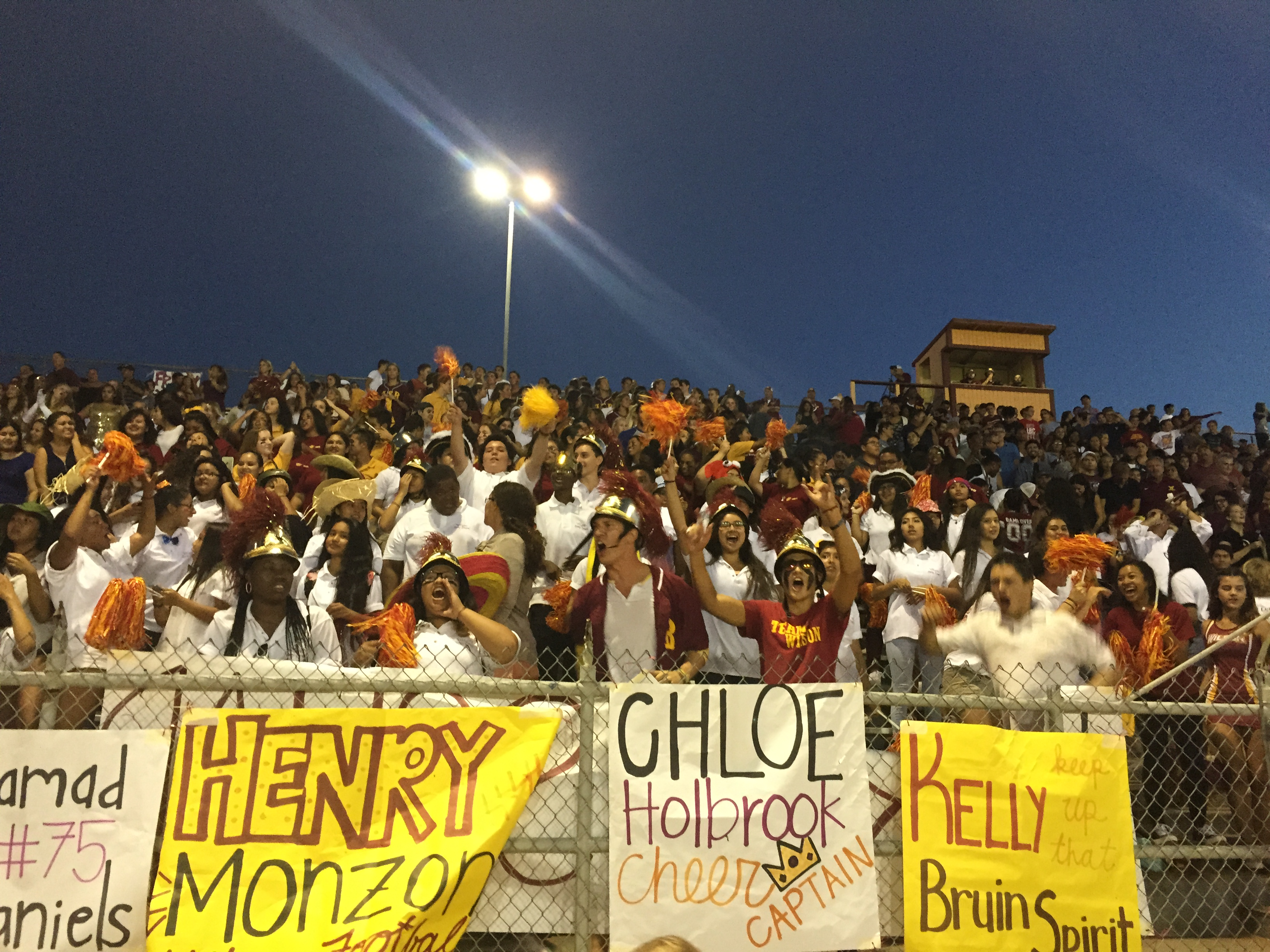 Just Another Great Friday Night To Be A Bruin!